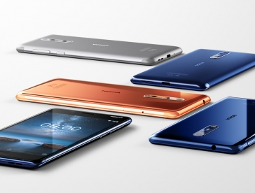 HMD Global - Nokia 8, 6, 5 and 3